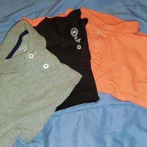 Boys polo shirts 🟢